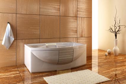 Photos salles de bain for Carrelage salle de bain grand carreaux