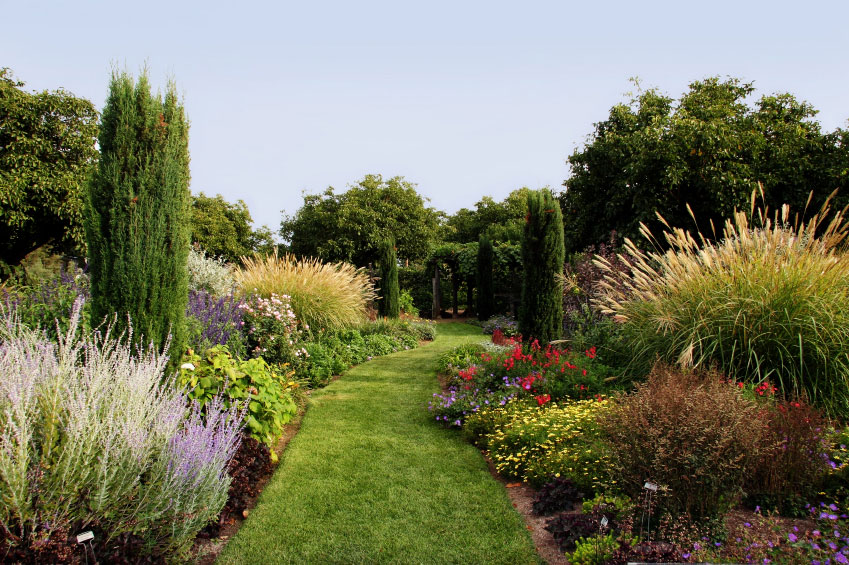 Les diff rents types de jardin for Circuit jardins anglais