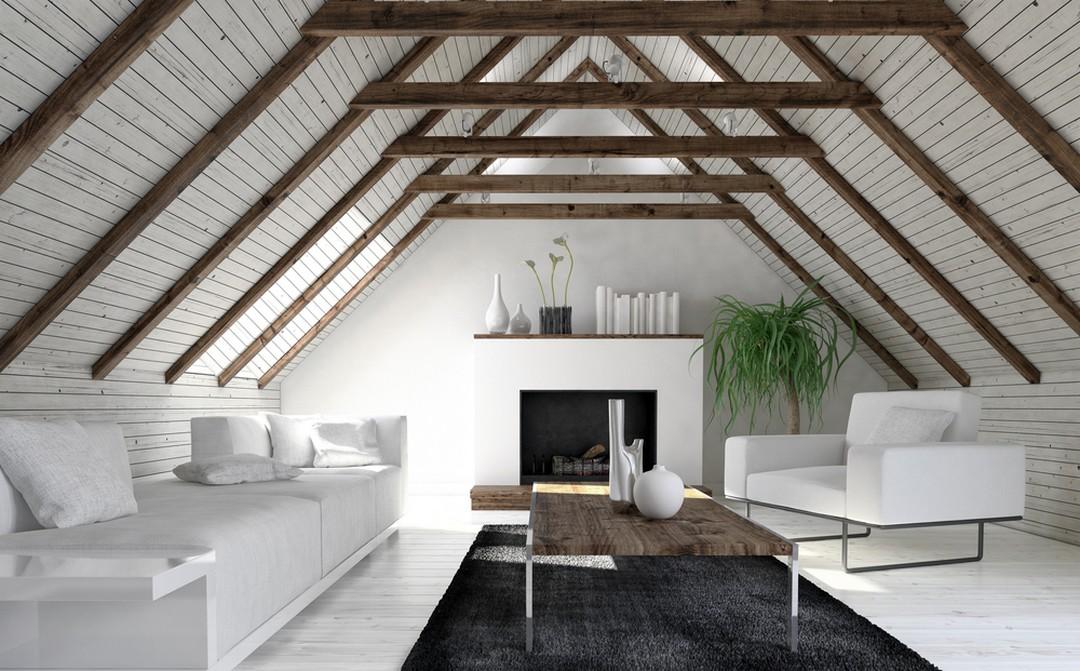 lambris plafond