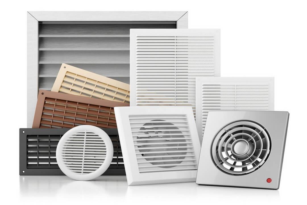 divers systèmes de ventilation, VMC
