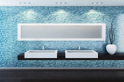 Salle de bain design 10m2 les abymes contact artisan for Devis salle de bain 10m2