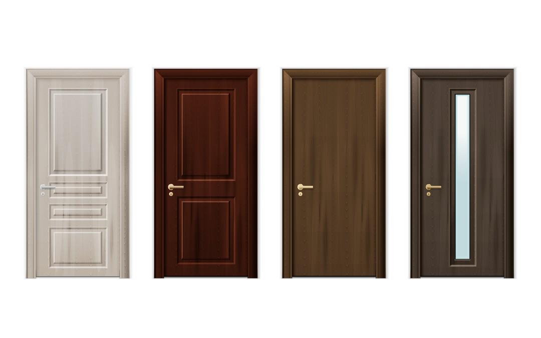 Comparatif des matériaux des portes intérieures