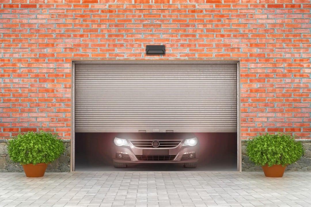 Prix d'une porte de garage à enroulement