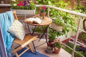 Un jardin sur balcon