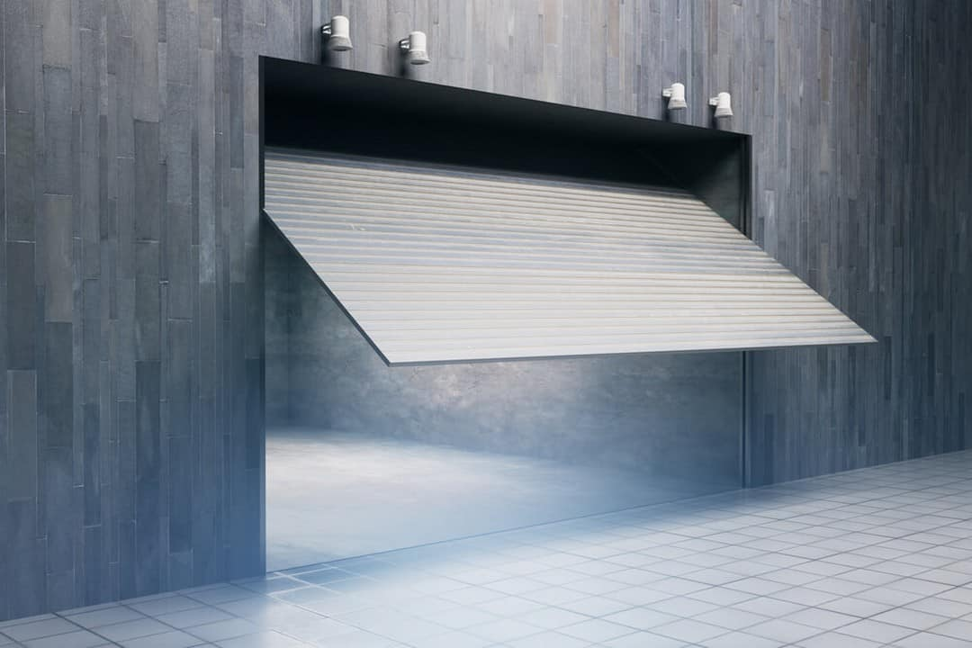 Porte de garage à bascule