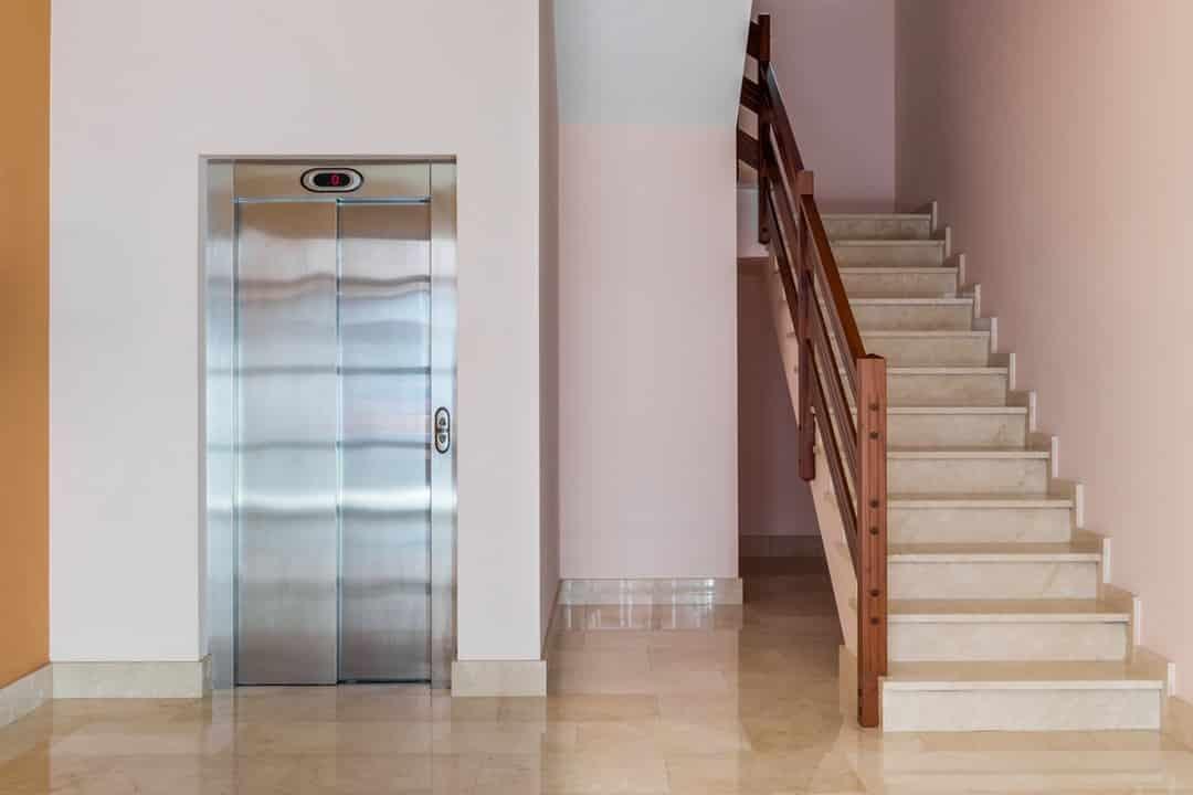 Ascenseur privé dans une résidence