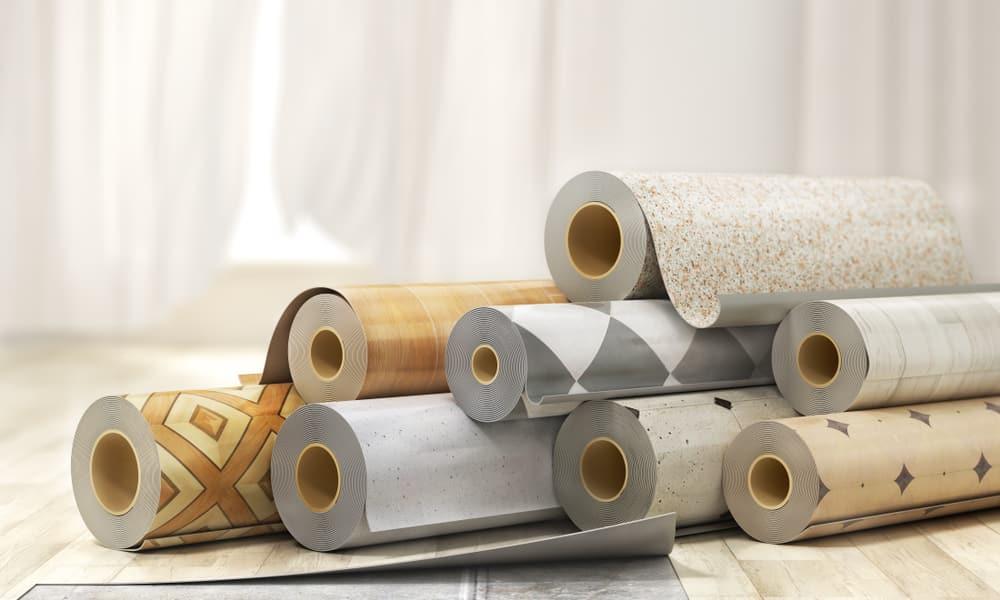 différents modèles de sols vinyles