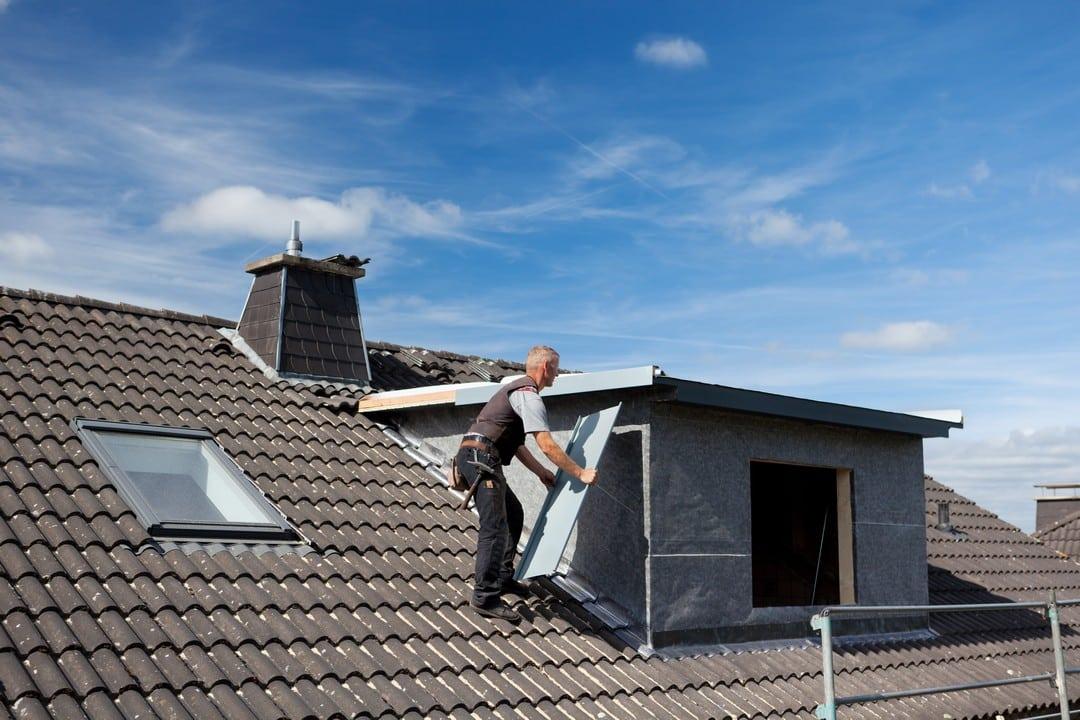 installation d'une fenêtre de toit, choix des matériaux